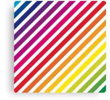 Rainbow stripey thing Canvas Print