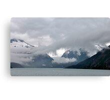 Burns Glacier & Portage Lake ~ Alaska Canvas Print