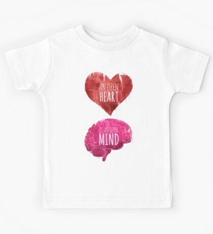 Open Heart, Open Mind Kids Tee