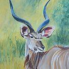 Kudu Bull. by Fran Webster