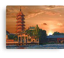 Chao Phraya River, Bangkok, Thailand Canvas Print