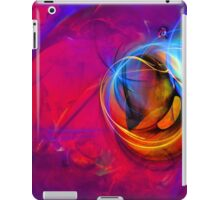Jerry the Horse- colorful digital abstract art  iPad Case/Skin