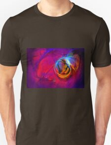 Jerry the Horse- colorful digital abstract art  Unisex T-Shirt