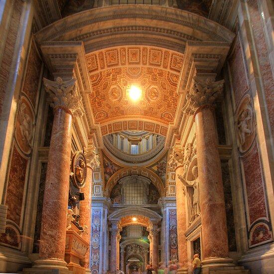 Basilica Papale di San Pietro in Vaticano by Christophe Testi