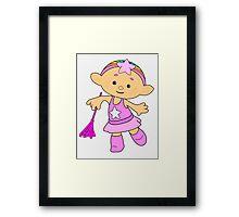 Baba Pink Cloudbaby Framed Print