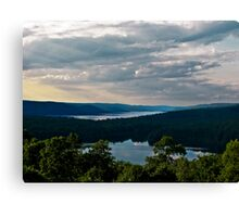 Hills of Quabbin Reservoir Canvas Print