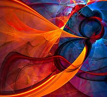 Infinity- colorful digital abstract  by gp-art