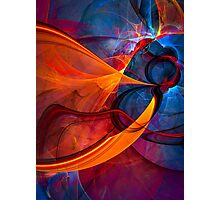 Infinity- colorful digital abstract  Photographic Print