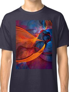 Infinity- colorful digital abstract  Classic T-Shirt