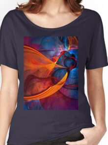 Infinity- colorful digital abstract  Women's Relaxed Fit T-Shirt