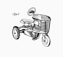 Toy Tractor Patent Drawing Unisex T-Shirt