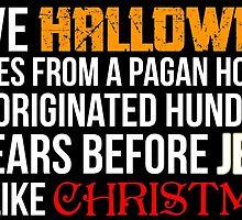 I love Halloween  by WFLAtheism