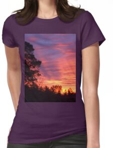 Sunset in South Carolina Womens Fitted T-Shirt