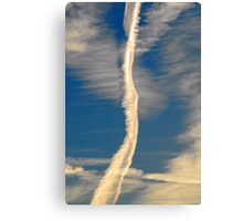 Drawing into the Sky Canvas Print