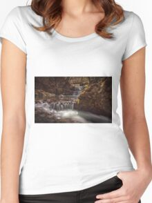 Sychryd Cascade Women's Fitted Scoop T-Shirt