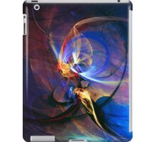 Journey of the soul - colorful digital abstract art  iPad Case/Skin