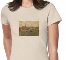Vintage Venice Womens Fitted T-Shirt