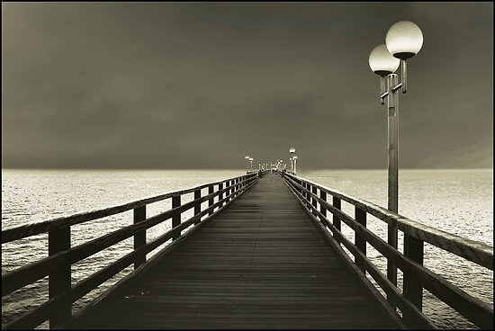 seebruecke by Heike Nagel