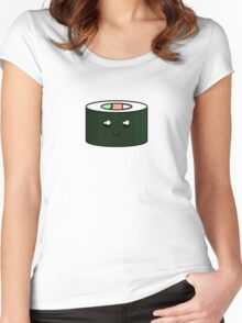 Cute Sushi Women's Fitted Scoop T-Shirt