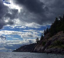 Pender Island B.C.  by George Cousins