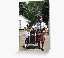 Durham Highland Games Greeting Card
