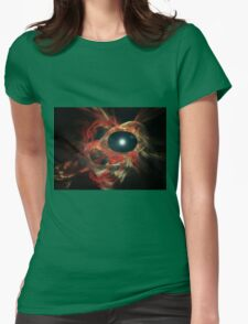 Eye of God Womens Fitted T-Shirt