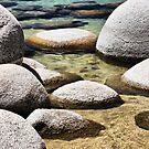 Sand Harbor at Lake Tahoe by Barbara  Brown