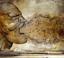 A Scream by Tancredi Trugenberger