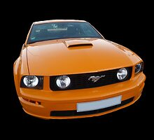 Orange Mustang by Vicki Spindler (VHS Photography)