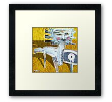 soul are stand tall Framed Print