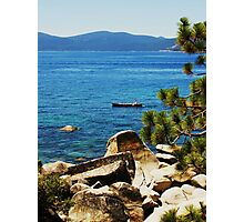Land of Sky Blue Waters Photographic Print