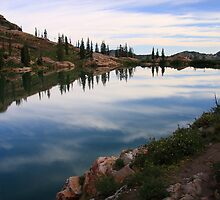 Cecret Lake by Gene Praag