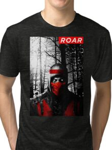 Roar Injustice Tri-blend T-Shirt