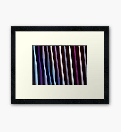 Stripes in Motion #2 Framed Print