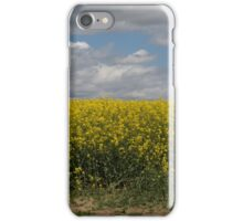 Rapeseed fields iPhone Case/Skin