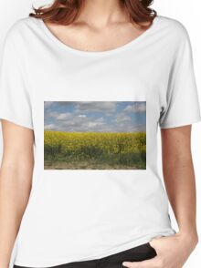 Rapeseed fields Women's Relaxed Fit T-Shirt