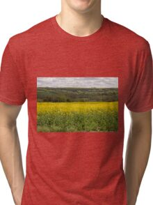 Rapeseed fields Tri-blend T-Shirt