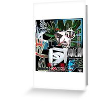 tribe vibe voice Greeting Card