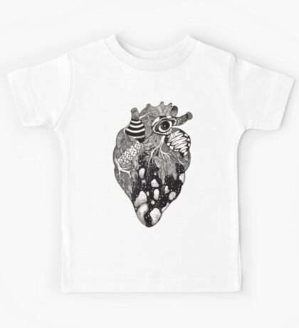 The Black Ink Heart Kids Tee