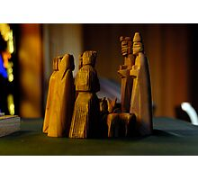 Church Figurines Photographic Print