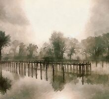Misty Morning by Bunny Clarke