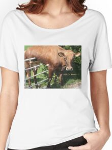 Silly Moo!!! Women's Relaxed Fit T-Shirt