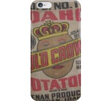 Potato Sack Sex Kitten iPhone Case/Skin
