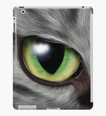 Cats Eyes Digital Painting iPad Case/Skin