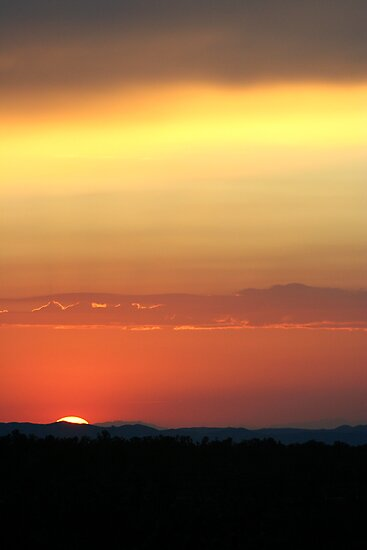 Cima Dome Sunset by Chris Clarke