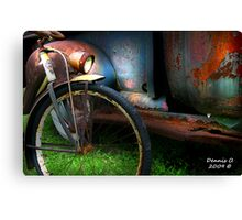 """""""TWO  RUSTY"""" Canvas Print"""