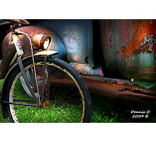 """TWO  RUSTY"" Photographic Print"