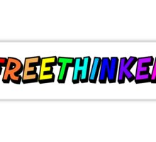 Freethinker  Sticker