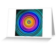To Center Inverted Greeting Card
