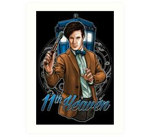 11th Doctor - Eleventh Heaven Art Print